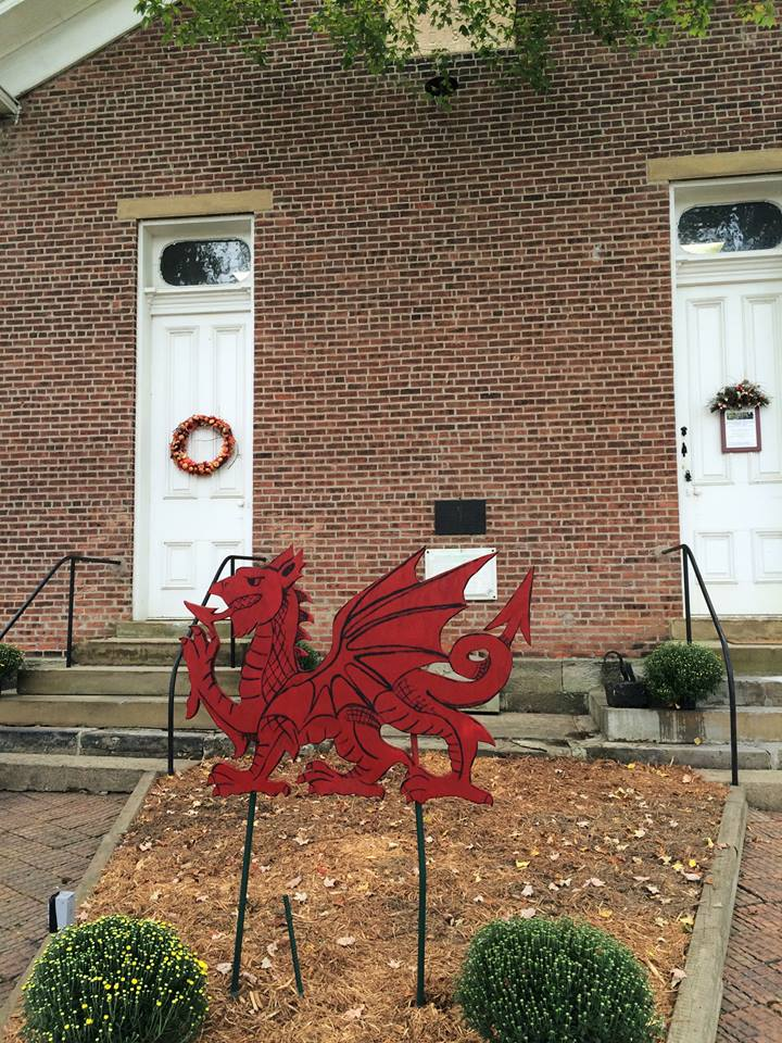 The front of the Welsh-American Heritage Museum.