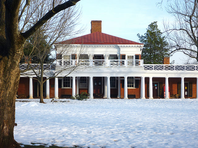 Pavilion VIII on the U.Va Campus