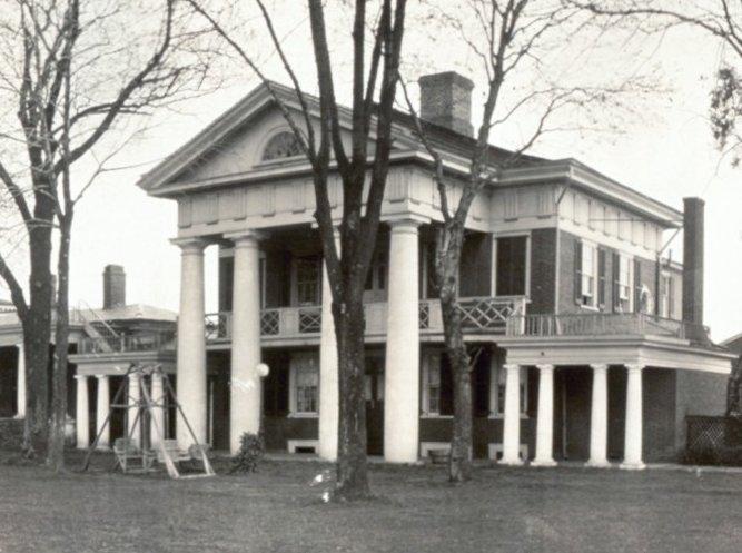 Pavilion X in 1911