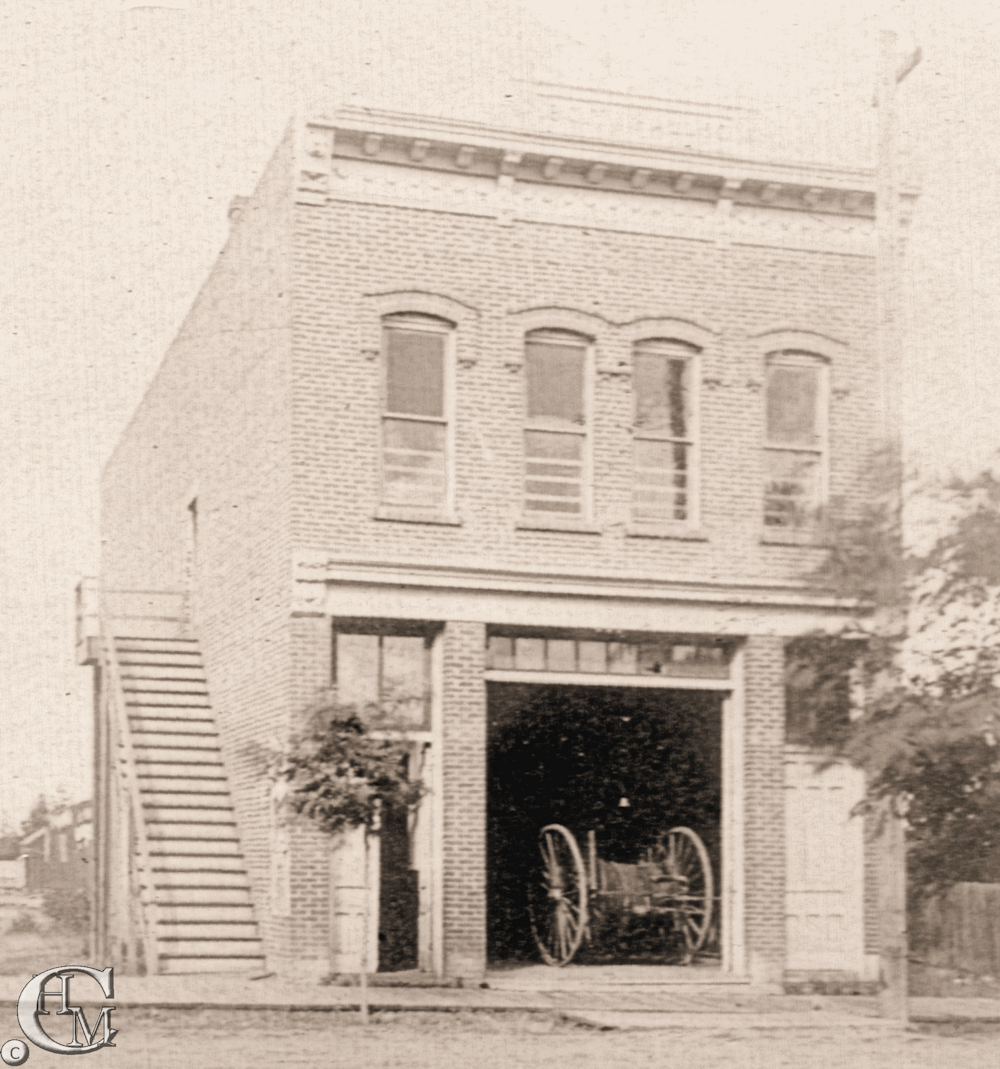 1890 Fire Department and City Hall