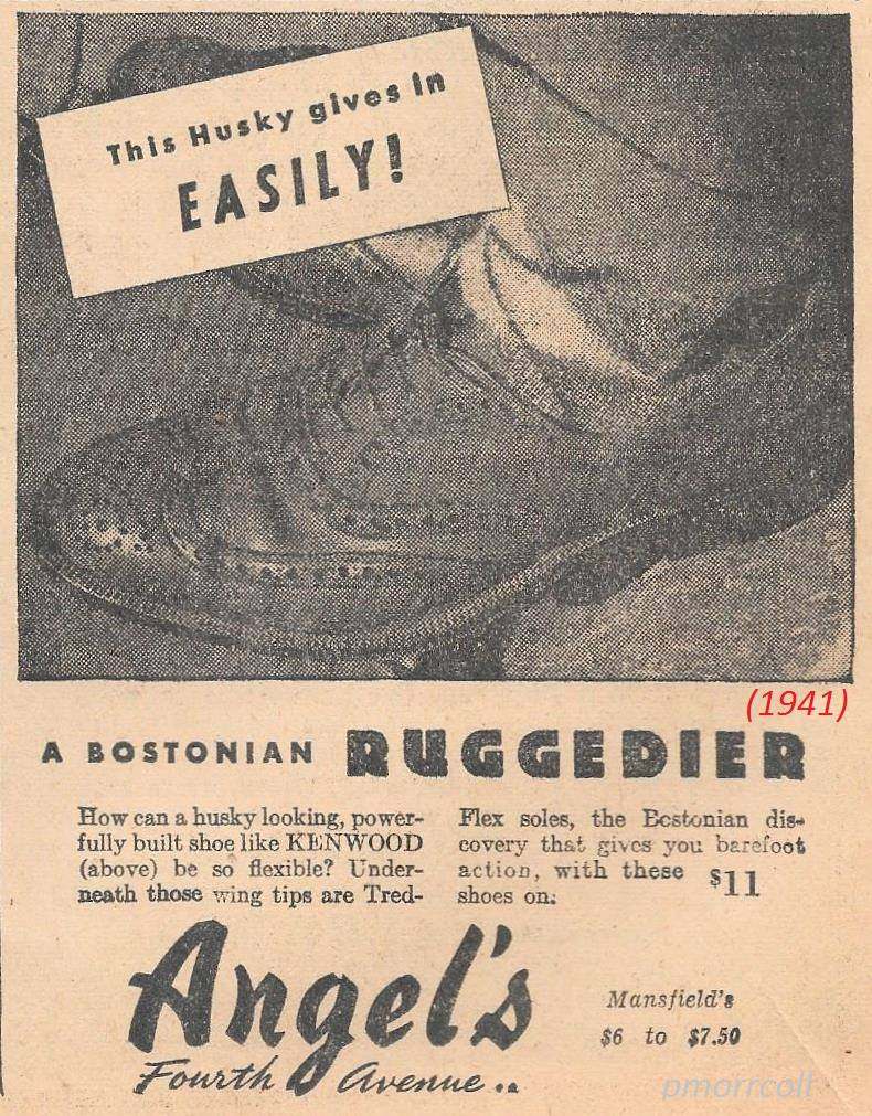 An ad for Angel's from 1941