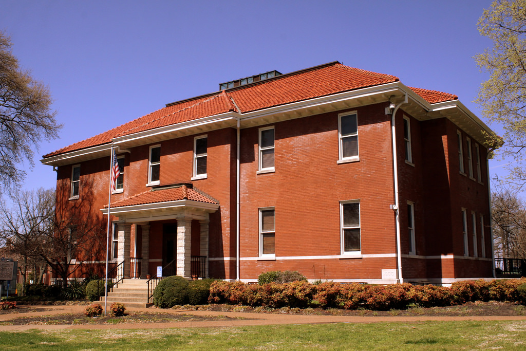 Fisk University Academic Building - front and side view