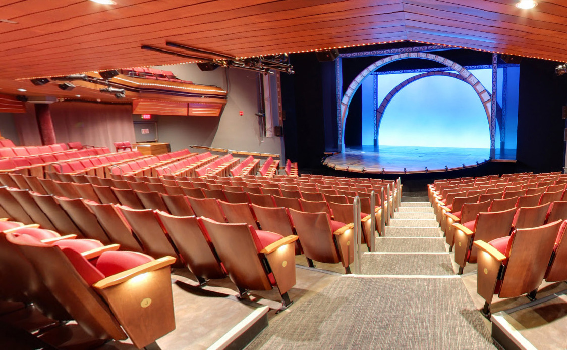 One of the Geva Theatre Center's stages today