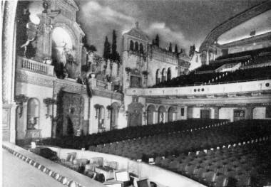 Bostwick, Louis, and Homer Frohardt, Interior of Riviera Theatre, 1932, Bostwick-Frohardt Collection, The Durham Museum, Omaha.