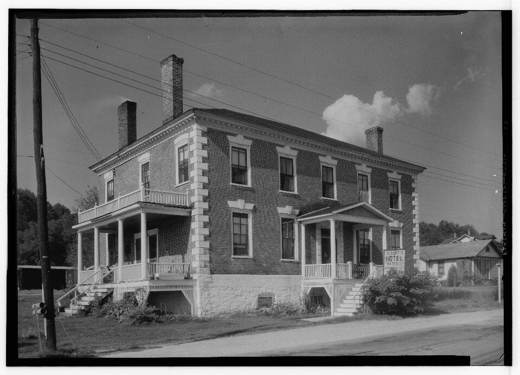 The Old Hotel - Historic American Buildings Survey