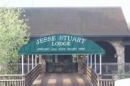 Jesse Stuart Lodge Entrance