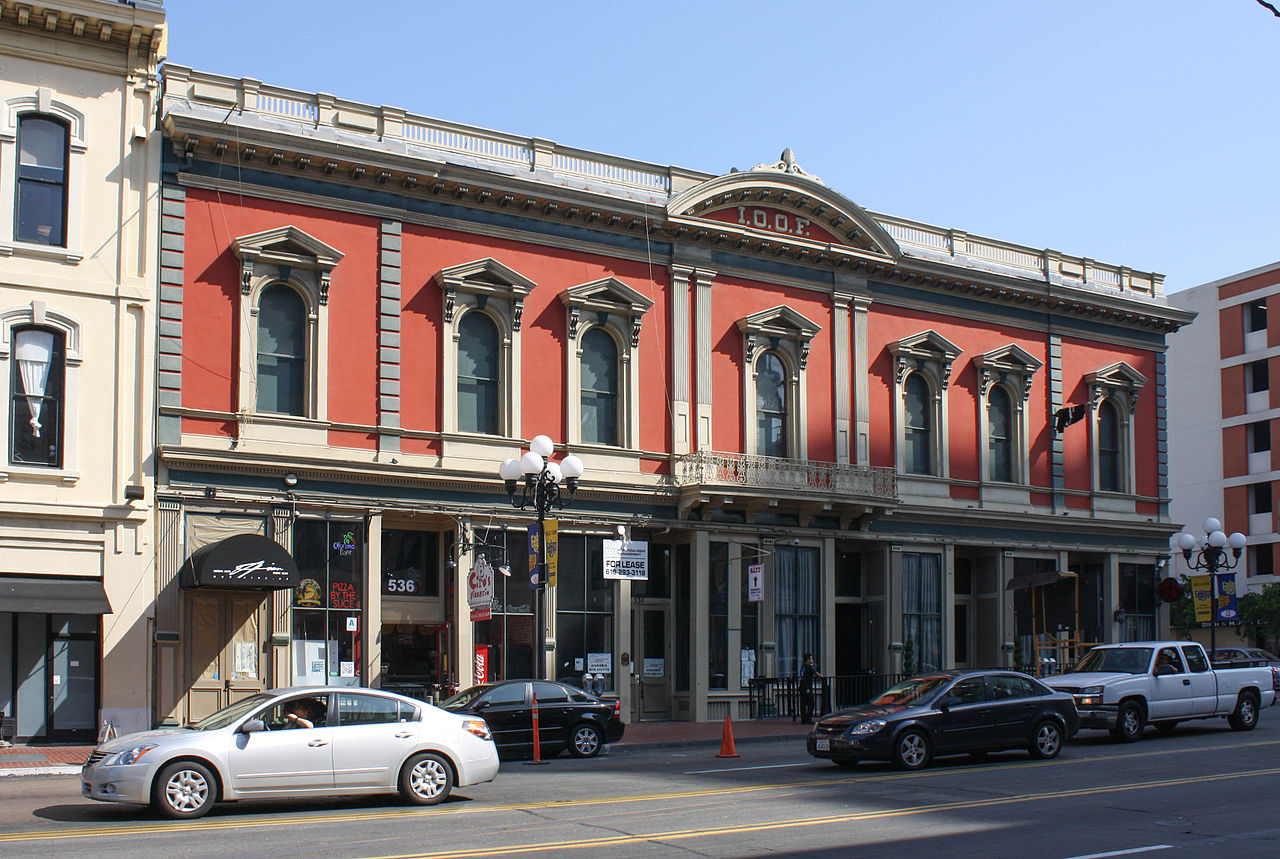 The Independent Order of Odd Fellows Building as it looks today
