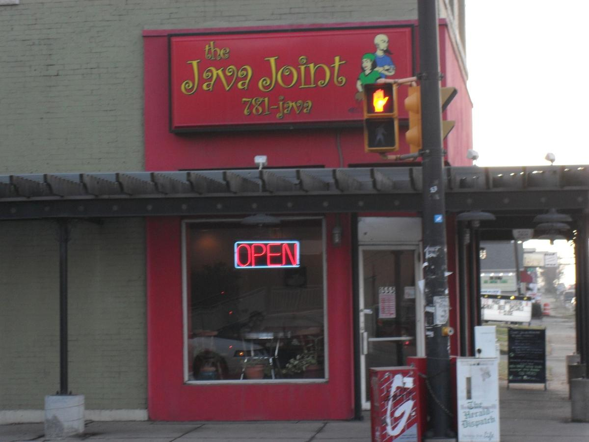 The former cafe also housed the Java Joint