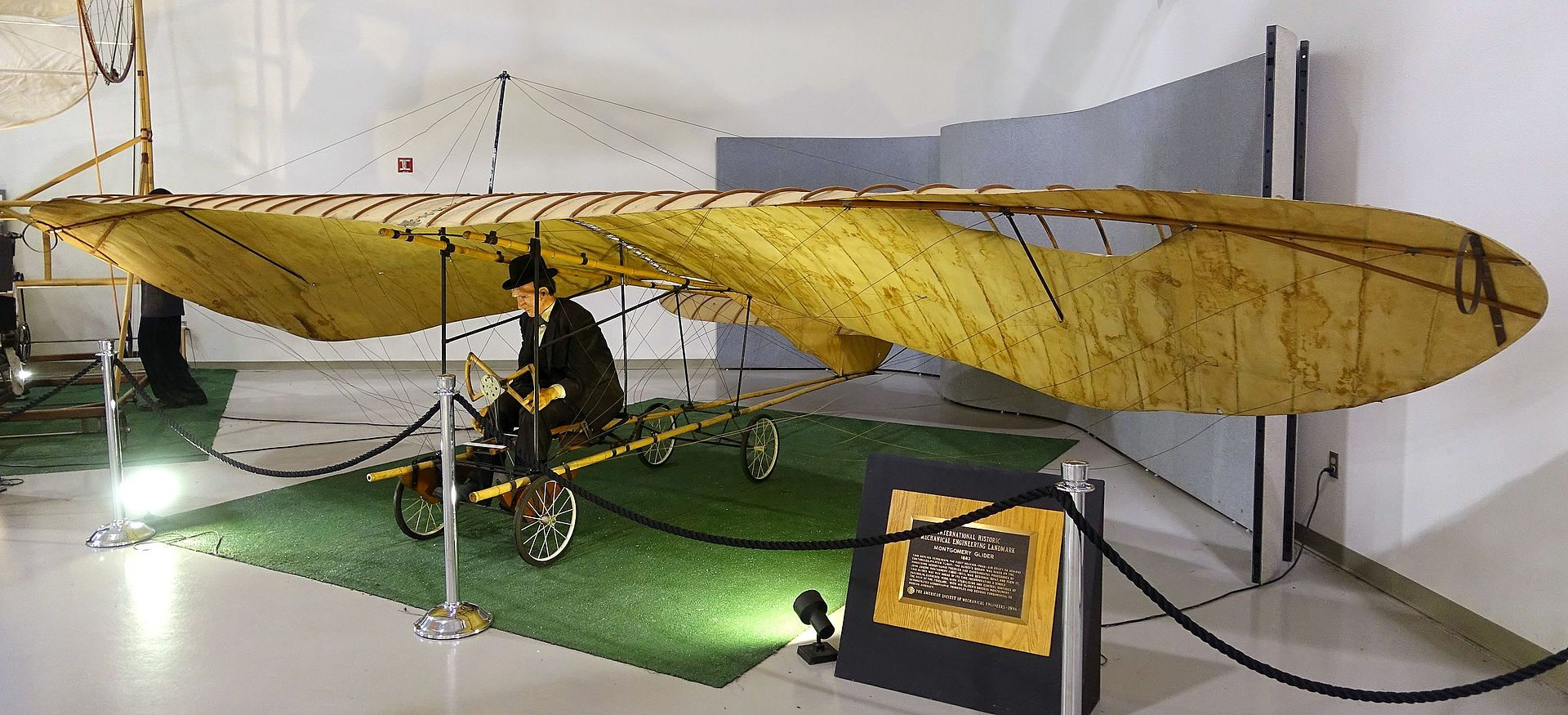 Replica of The Evergreen at the Hiller Aviation Museum (San Carlos, CA).