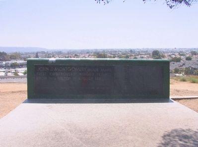 Montgomery Memorial marker