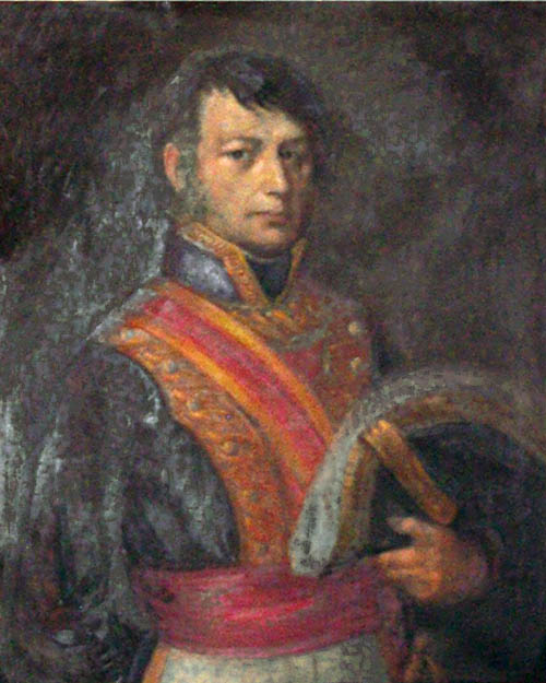 Portrait of José Antonio Estudillo from about 1830