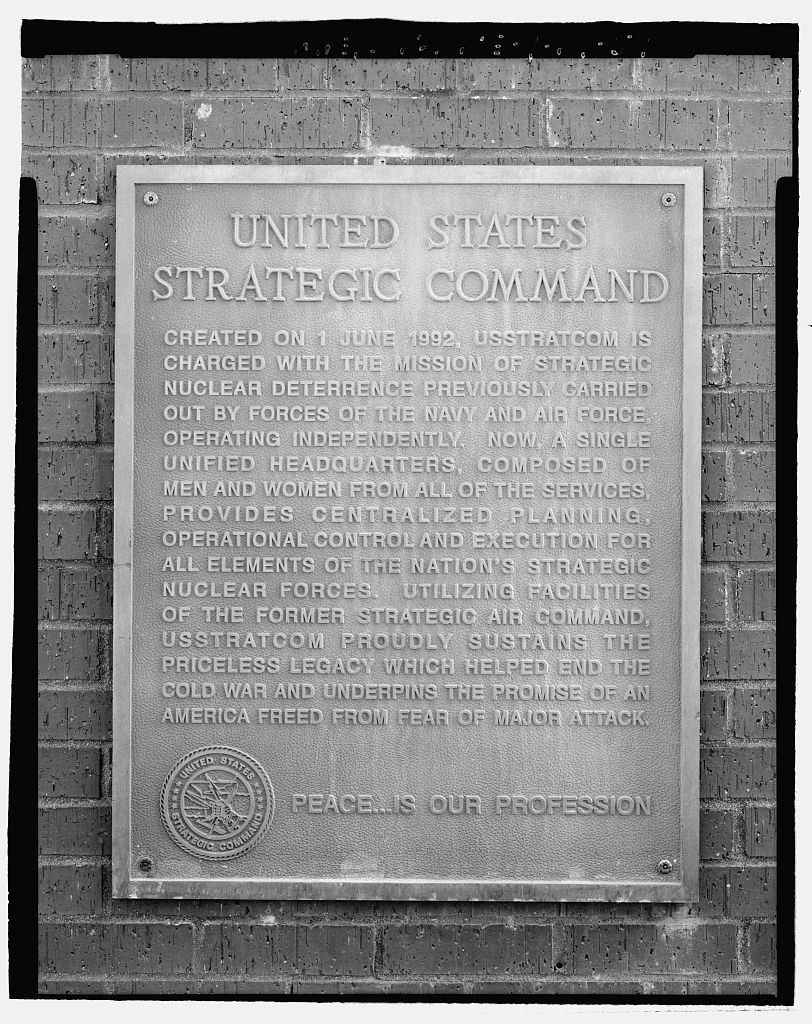STRATCOM Promise Plaque