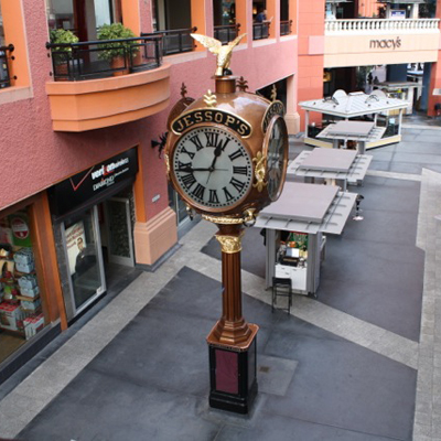 This clock has been keeping time in San Diego since the 1907 World's Fair.