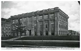 Jones Hall circa 1910, when it was known as the Physical Laboratory