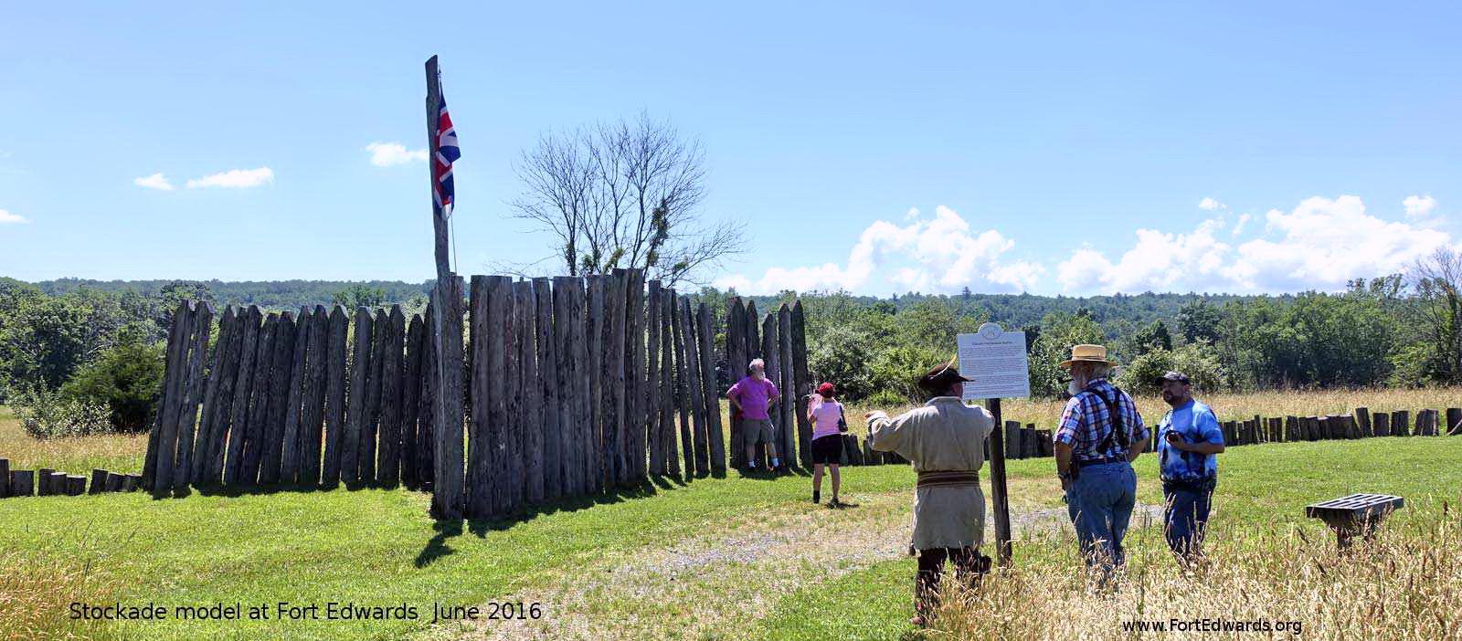 Fort Edwards Stockade.