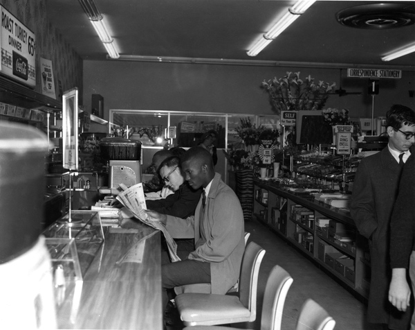 Sit-in at Woolworth's lunch counter