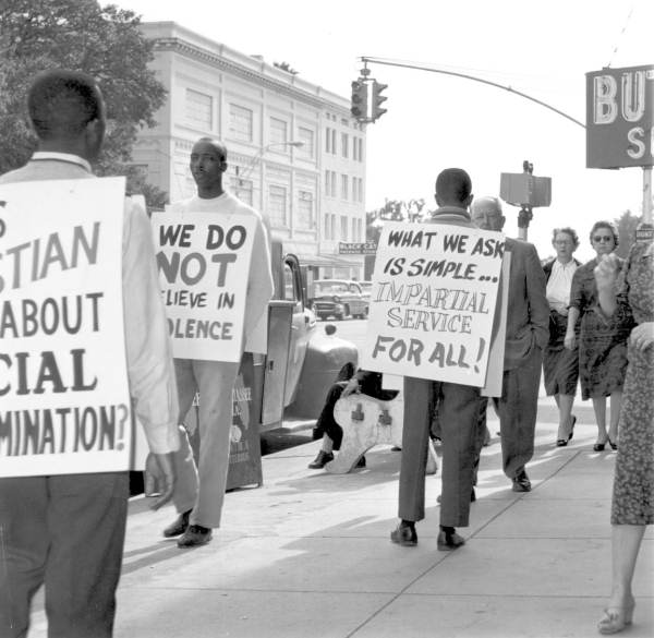 By summer, the protests spread to Neisner's McCrory's, F.W. Woolworth's, Walgreen's and Sear's lunch counters