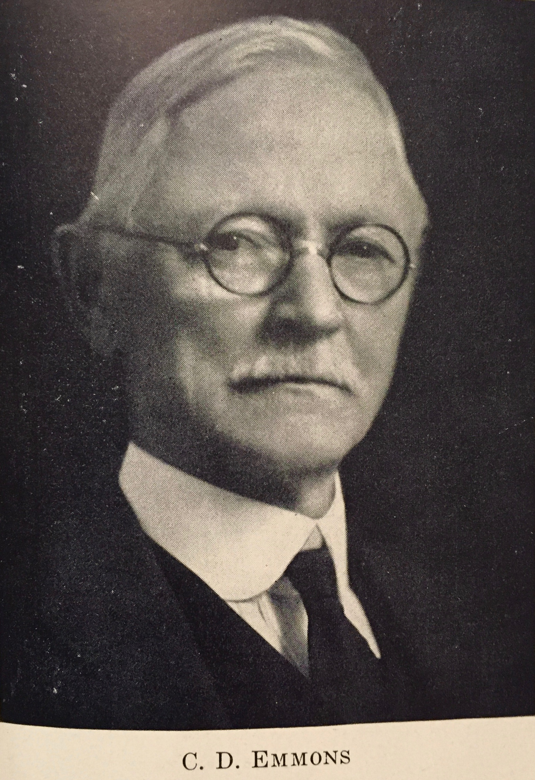 Carlton D. Emmons, first president of the Emmons-Hawkins Hardware Company