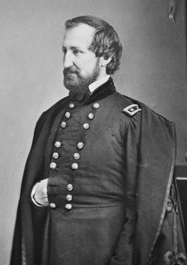 Gen. William Rosecrans, namesake of the fort-cemetery