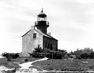 Undated Coast Guard photo of the lighthouse