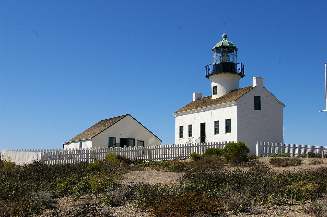 The lighthouse was built in 1854. It no longer active but is now a museum.