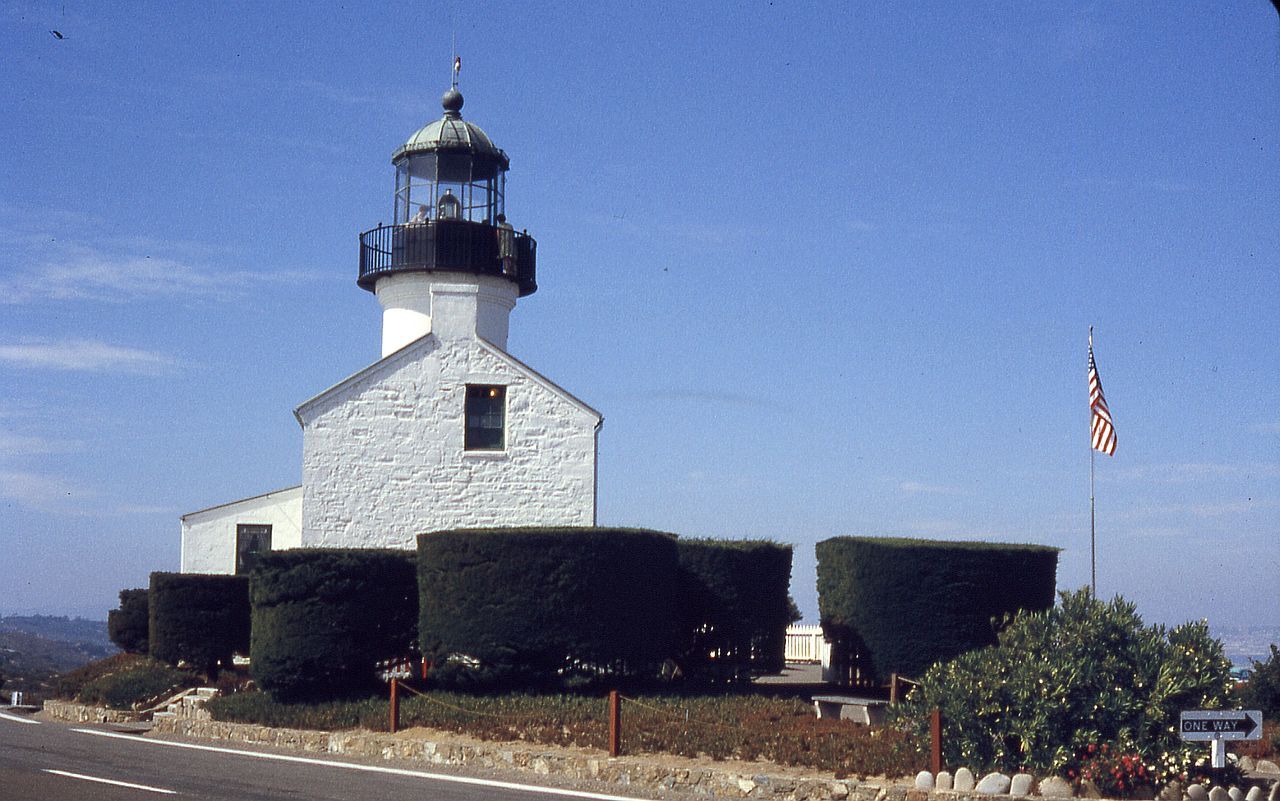 The lighthouse as it appeared in 1965.