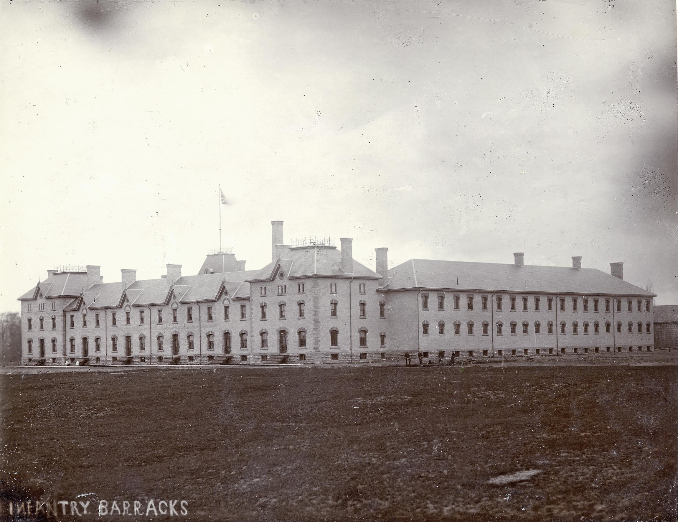 Infantry Barracks, c. 1890