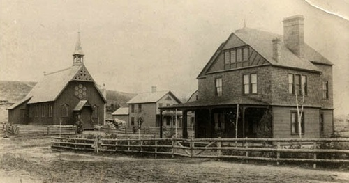 Dr. E.L. Trudeau's Original House (undated)