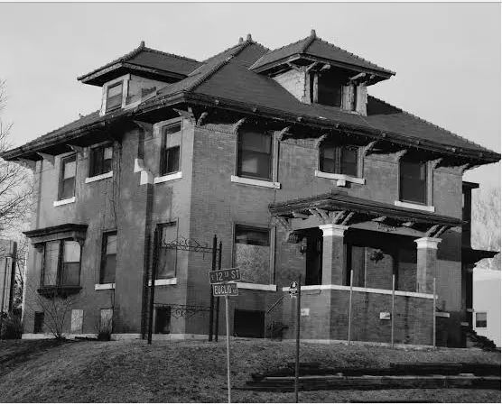 The Rector Mansion has been vacant and falling into a state of disrepair