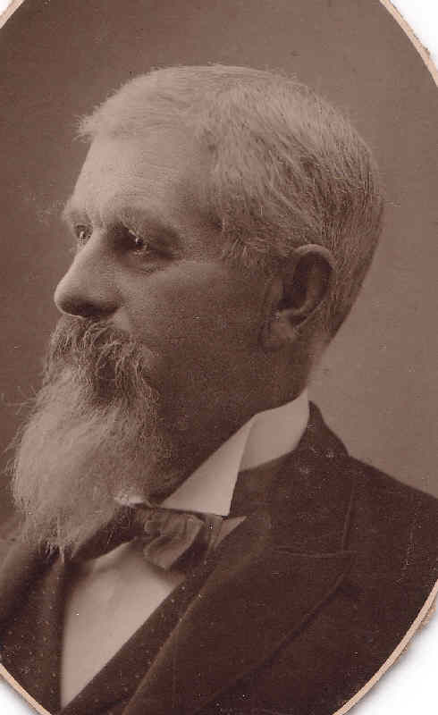 Capt. Alfred Henry Wilcox. Taken sometime before his death