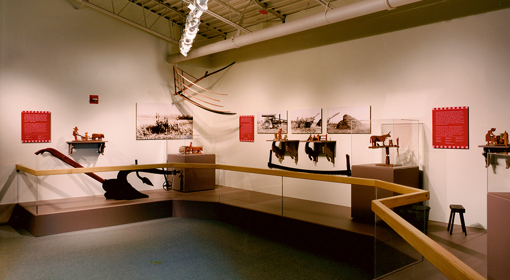 Visitors can browse thousands of artifacts showcasing the history of agriculture at the Delaware Agricultural Museum.