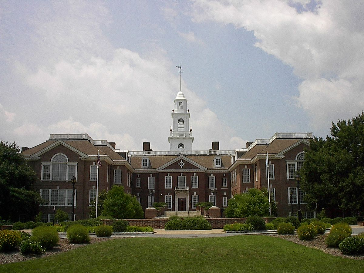 Legislative Hall is home to the Delaware General Assembly.