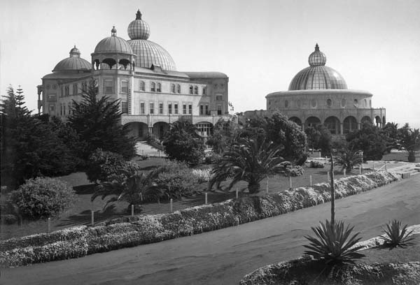 The Raja Yoga Academy and the Temple of Peace, c. 1915