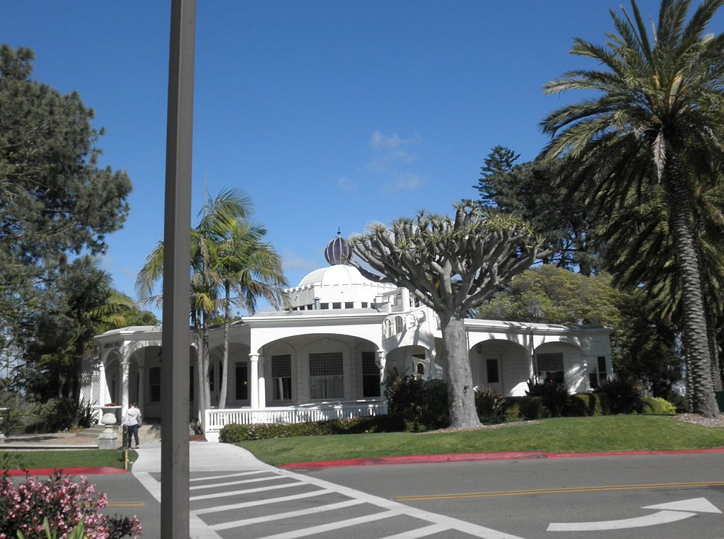 Mieras Hall, now the administration building on the PLNU campus; originally the home of Albert Spalding.