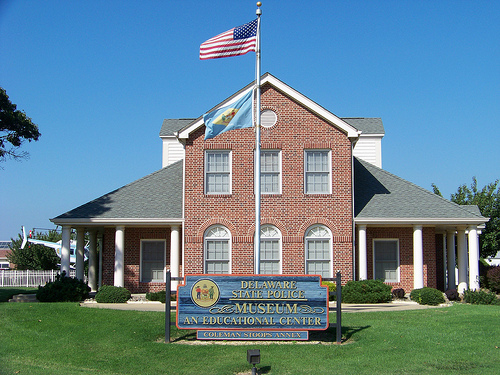 The Delaware State Police Museum and Education Center shares the history of the Delaware State Police.