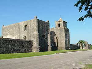 Modern day photo of Presidio La Bahia