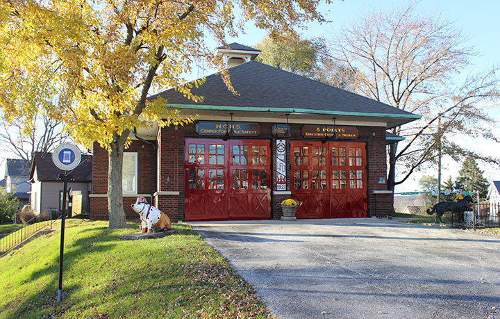 The Five Points Fire Station Museum opened in 2003 in a station that was completed in the 1920s