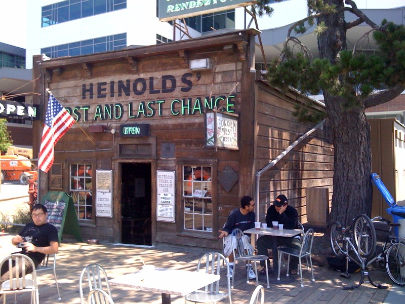 Exterior of Heinold's
