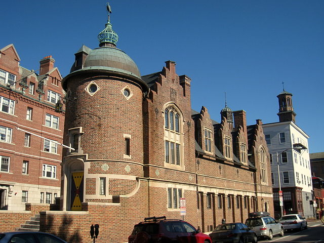Harvard Lampoon Building in Cambridge, MA