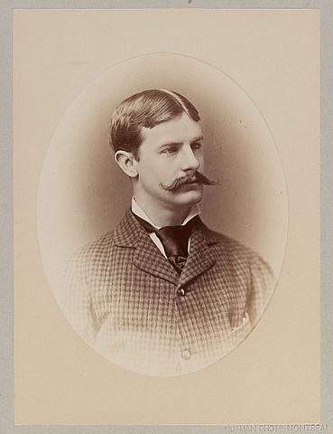 Photograph of Architect Edmund March Wheelwright (1854-1912), Circa 1876