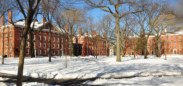 Harvard Yard, Winter 2009