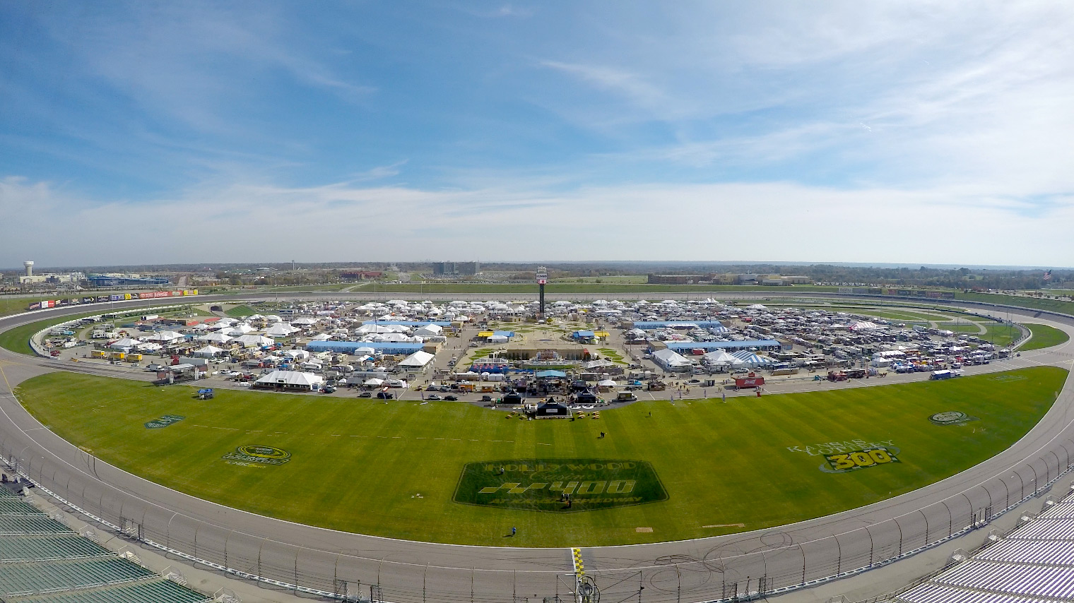 The American Royal barbecue competition at Kansas Speedway