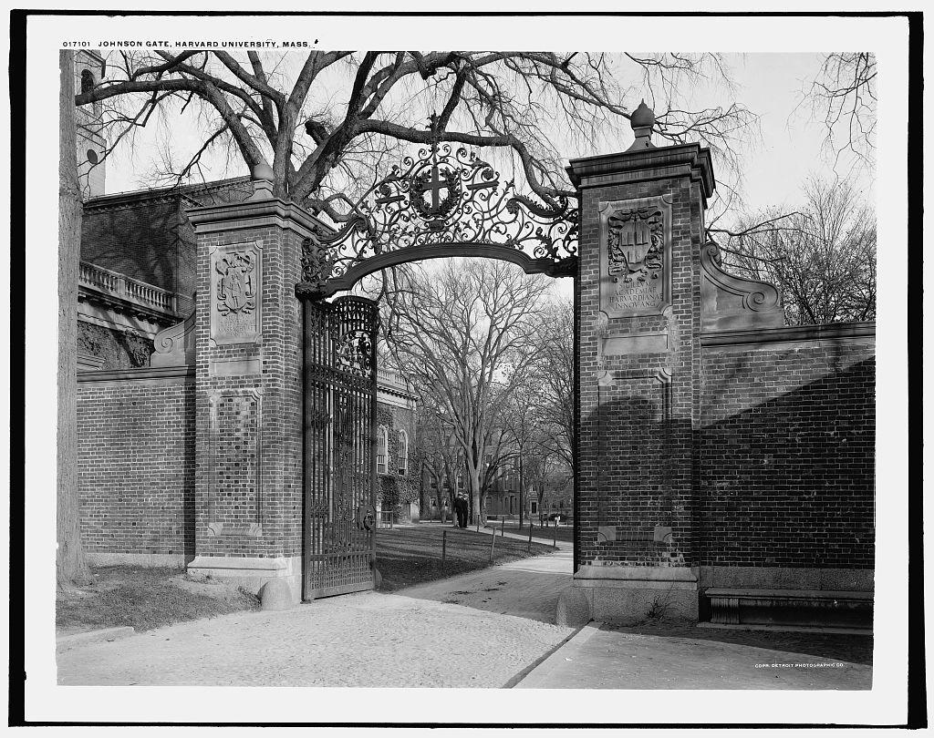 Johnston Gate in 1904