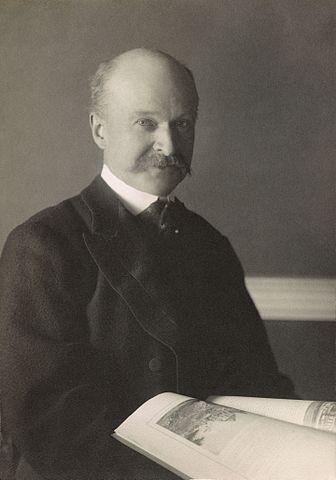 Charles Follen McKim, portrait by Frances Benjamin Johnston