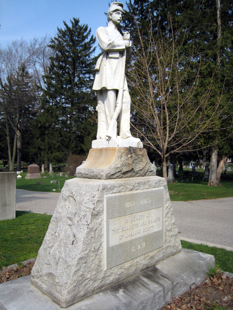 "Civil War Memorial ""Billy Yank,"" Mount Avon Cemetery, 2012"