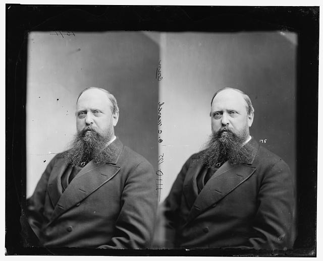 Othniel C. Marsh, pictured sometime between 1865 and 1880 (Library of Congress)