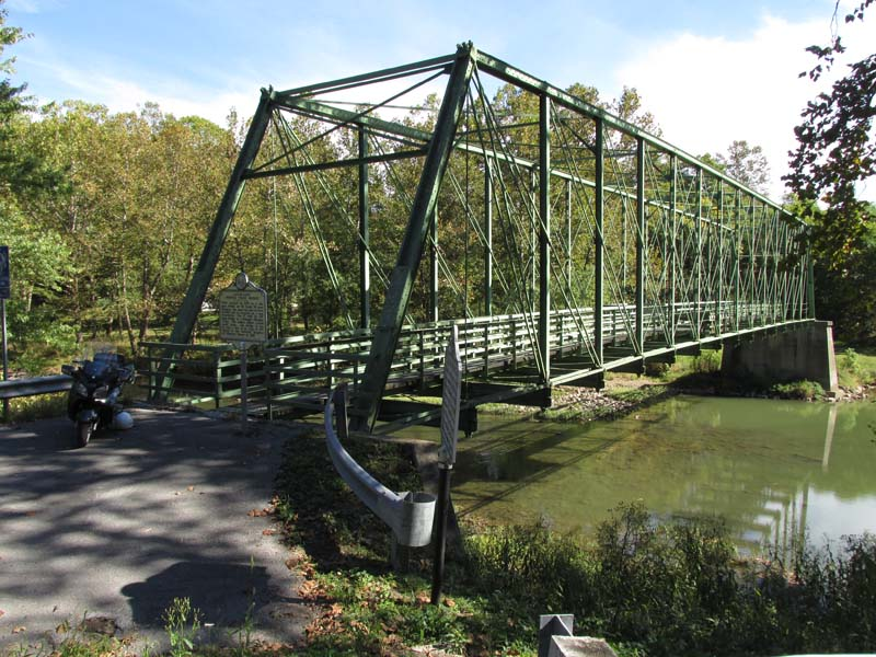 Capon Lake Whipple Truss Bridge