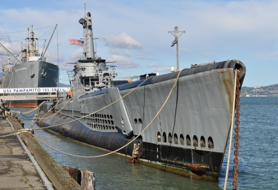 The USS Pampanito.