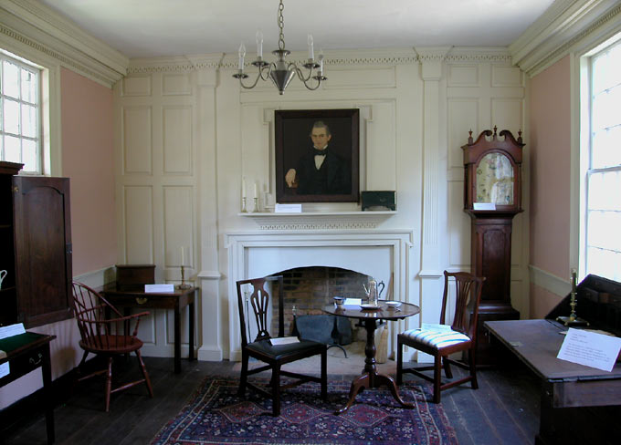 Wilson-Wodrow-Mytinger House Main Room