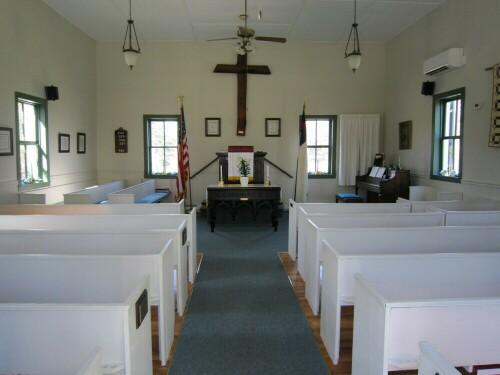 Hedges Chapel Interior